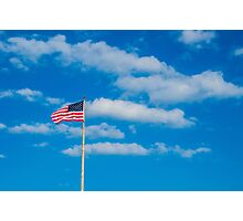 Freedom In the Clouds Photographic Print