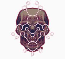 Scifi skull Kids Tee