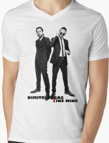 DIMITRI VEGAS & LIKE MIKE UNLIMITED COVER Mens V-Neck T-Shirt