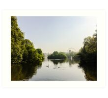St James' Park, London Art Print