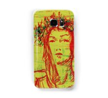 The Girl Who Waited. Acrylic Painting Samsung Galaxy Case/Skin