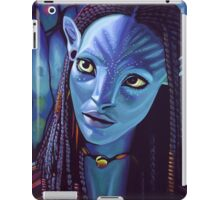 Zoe Saldana as Neytiri in Avatar iPad Case/Skin
