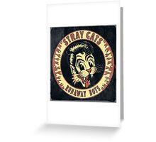 Stray Cats  (Runaway Boys) Vintage Greeting Card