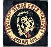 Stray Cats  (Runaway Boys) Vintage Photographic Print