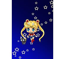 Chibi Sailor Moon Photographic Print