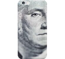 One Dollar Bill macro iPhone Case/Skin