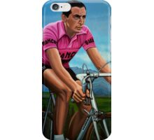 Fausto Coppi Painting iPhone Case/Skin