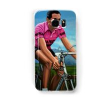Fausto Coppi Painting Samsung Galaxy Case/Skin