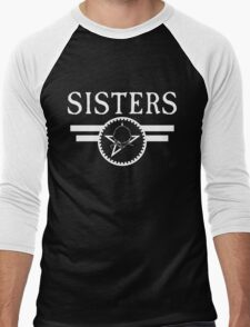 "The Sisters Of Mercy - The Worlds End - ""Sisters"" New Logo Men's Baseball ¾ T-Shirt"