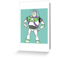 Become Buzz : To infinity and beyond! Greeting Card