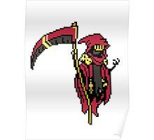 Shovel Knight - Specter knight Poster
