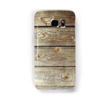 Plank texture Samsung Galaxy Case/Skin
