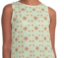 Seaside Stuff Pattern Contrast Tank