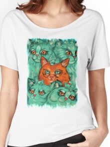 Kitty Madness Women's Relaxed Fit T-Shirt