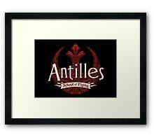 Antilles School of Flying (Dark) Framed Print