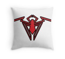 Spider-Man Unlimited Logo Tee Throw Pillow
