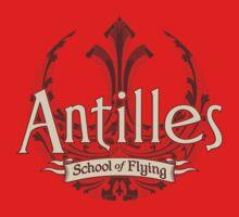Antilles School of Flying (Dark) Kids Clothes