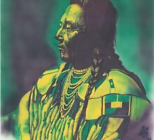 Chief Plenty Coups by louis garding