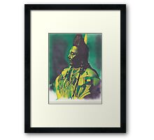 Chief Plenty Coups Framed Print