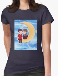 Space Nerds Dan and Phil Womens Fitted T-Shirt
