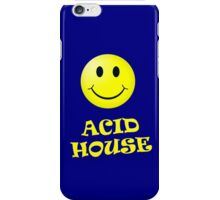 Acid House Smiley Face Phone Cover iPhone Case/Skin