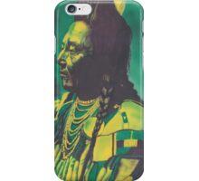 Chief Plenty Coups iPhone Case/Skin