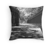 Walkway, Neal Preserve, Bradenton, FL Throw Pillow