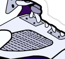 Jordan 5 Grape Sticker Sticker