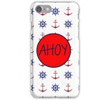 AHOY - Nautical Design iPhone Case/Skin