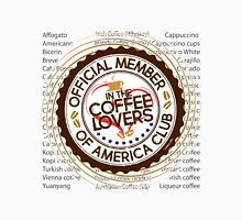 Coffee Lovers of America Club by Jeronimo Rubio 2016 Unisex T-Shirt