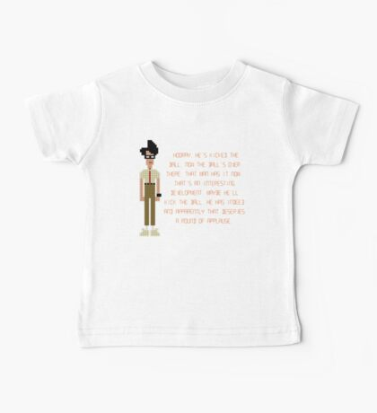 The IT Crowd – Moss at the Football Baby Tee
