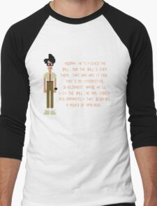 The IT Crowd – Moss at the Football Men's Baseball ¾ T-Shirt