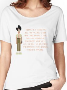The IT Crowd – Moss at the Football Women's Relaxed Fit T-Shirt