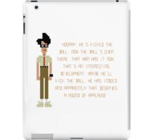 The IT Crowd – Moss at the Football iPad Case/Skin