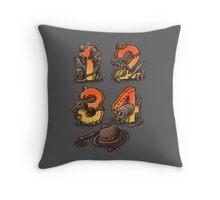 Adventurous Archaelogist Throw Pillow