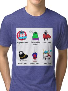 The LlamAvengers Tri-blend T-Shirt