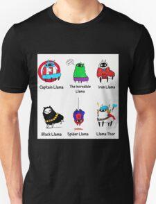 The LlamAvengers Unisex T-Shirt