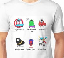 The LlamAvengers Unisex T-Shirt