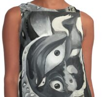 ANGEL IN THE CITY Contrast Tank