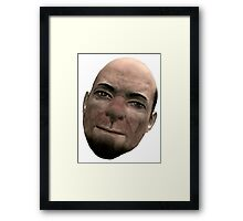Photogenic Whiterun guard man Framed Print