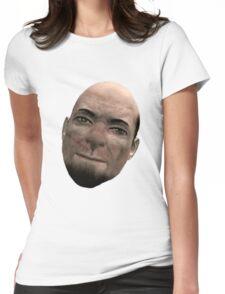 Photogenic Whiterun guard man Womens Fitted T-Shirt