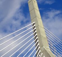 The Leonard P. Zakim Bunker Hill Memorial Bridge Sticker