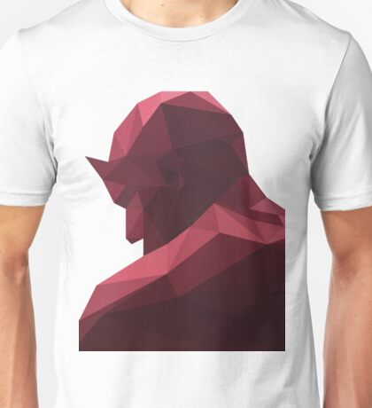 daredevil low poly Unisex T-Shirt