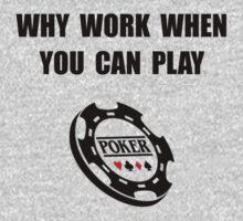 Play Poker One Piece - Long Sleeve