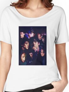 EXO - Monster Collage Women's Relaxed Fit T-Shirt