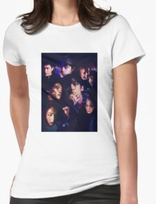 EXO - Monster Collage Womens Fitted T-Shirt