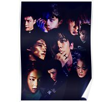 EXO - Monster Collage Poster