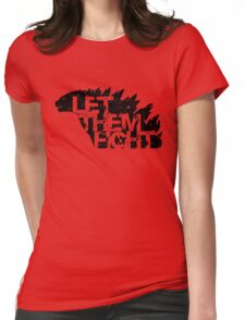 Let Them Fight Womens Fitted T-Shirt