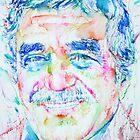 GABRIEL GARCIA MARQUEZ -  portrait.2 by lautir
