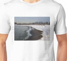 Winter Beach - Lake Ontario, Toronto, Canada Unisex T-Shirt